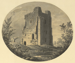 Part of the Ruins of Ravensworth Castle